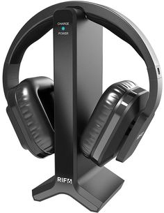 903d59882e39 Ofertas- RIF6 Wireless Headphones for TV with RF Transmitter Watching and  Listening.