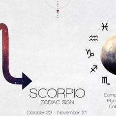 scorpionului 23 November, Scorpion, Zodiac Signs, How To Plan, Scorpio, Star Constellations, Horoscopes, Zodiac Mind