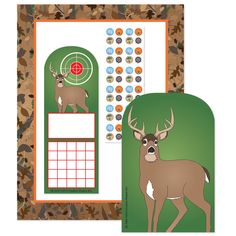Camo Stationery Set (SE-7108)