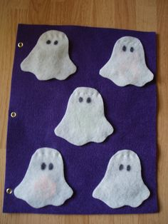 Ghosts Lift-the-Flap - via Etsy.