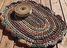 HARVEST+HOMESPUN+DELUXE+KIT #crochet #ragrug #diy