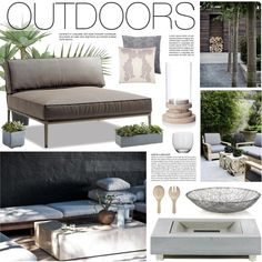 """""""Outdoor Decor"""" by bellamarie on Polyvore"""
