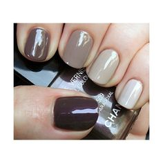 Beauty / Ombre nails, found on polyvore.com