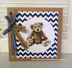 Laura's Creative Moments: BABY BEAR, STAMPIN' UP!