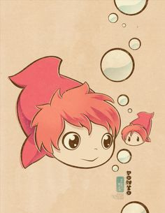 :iconidrawrainbows: Squishy Ponyoby idrawrainbows Fan Art / Manga & Anime / Digital / Movies & TV©2013-2014 idrawrainbows :icondreexpuppy...