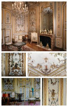 Le Grande Singerie  by Christopher Huet for the Chateau de Chantilly in France