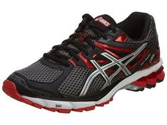 Asics Gt-10000 Gtx Mens T4L2N-7591 Storm Black Red Gore-Tex Running Shoes S 11.5