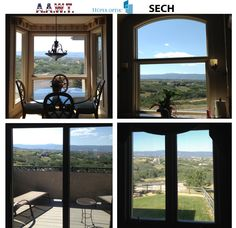 When it comes to a beautiful view like this, we don't want to sacrifice any of it, which isn't easy when trying to reduce heat and glare. That's why we used Huper Optik's SECH Series film.