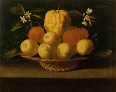 .:. Josefa de Óbidos, cesta com frutos e flores. Séc. XVII, 2.ª metade
