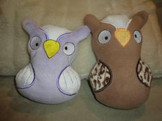 Embroidery | Free Machine Embroidery Designs | Bunnycup Embroidery | Owl Softie 5x7