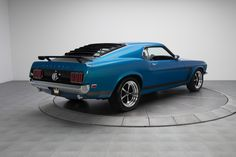 69 Boss 302 with 17 inch wheels