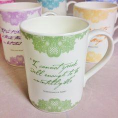 Exclusive Jane Austen Quote Mug   Jane Austen Gift Shop