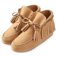 19b53da97242 Camel Leather Tassel Lace Up Flat Western Boho Ankle Boots Women