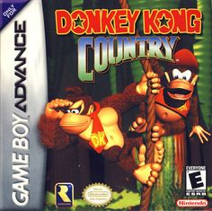 Donkey Kong Country Box Front