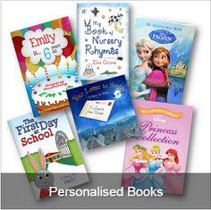 Presentorium's selection of personalised Children's Books