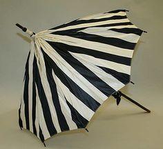 Parasol  Date: 1897–1901 Culture: French (probably) Medium: silk, tortoiseshell