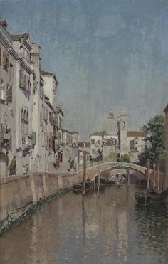 Tranquilo canal veneciano