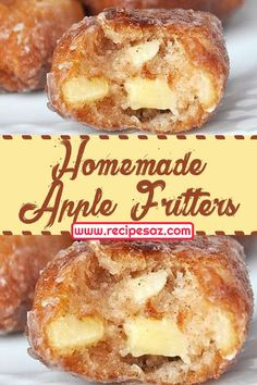 Homemade apple fritters recipe easy desserts recipes dessert deesserts dessertsrecipes dessertrecipes applefritters fritters apple homemade recipes homemade yummy tasty recipesaz 28 sugary sweet cobblers for thanksgiving captain decor Dessert Kabobs, Dessert Dips, Quick Dessert Recipes, Sweet Recipes, Delicious Desserts, Yummy Food, Delicious Cookies, Dinner Recipes, Oreo Desserts
