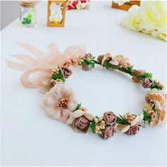 Cheap crown wand, Buy Quality crown royal accessories directly from China accessories material Suppliers:  fashion Flower Headpiece Wedding Bridal Hair Accessories Floral Crown Bohemia Halo Flower Crown Pink Artifical Flower C