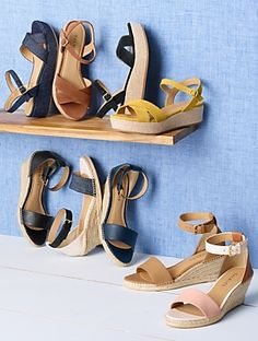 Talbots - Gabriella Espadrille Platforms |  |  Discover your new look at Talbots. Shop our Gabriella Espadrille Platforms for stylish clothing and accessories with a modern twist at Talbots