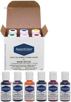 Food Coloring 183345: Americolor Soft Gel Paste Student Kit 2 Set Of ...