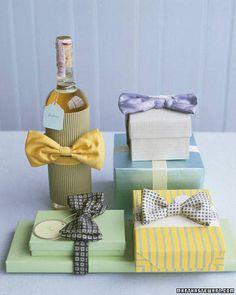 Decorazioni col cravattino #Lavoretti per la #festa del #papà