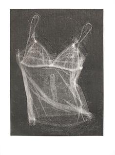 """Example - """"Pressure Print, Kate McQuillen teaching WSW's Summer Art Institute"""" Women's Studio Workshop"""