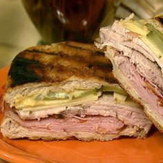 Michael Symon's Cuban Sandwich recipe. #thechew