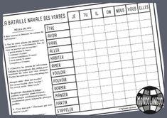 La bataille navale des verbes | Mondolinguo - Français