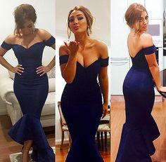 Portia & Scarlett Nadene gown (midnight navy blue) - Kourvosieur  - 1