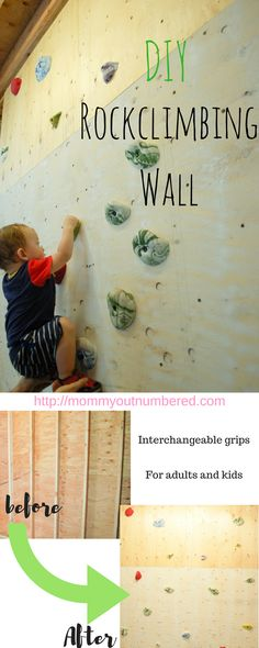 We finally did it! We have a rock-climbing wall in our house now. My husband is a very active person and he enjoys moving his body. He…