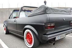 View topic: VW Golf convertible 50's edition – The Mk1 Golf Owners Club
