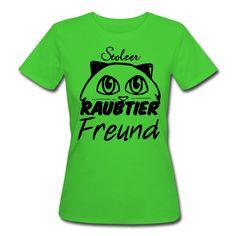 Stolzer Raubtier Freund. Tierisch gute Shirts und Geschenke für Katzen Freunde. #katze #katzen #kater #raubtier #stolz #freund #freunde #humor #haustier #haustiere #tier #tiere #fun #tierliebe #shirts #geschenke #kleidung