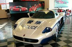Chinese Big city police car