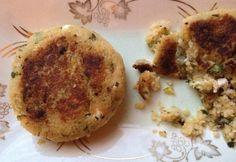 Feta, Apricot & Pistachio Couscous Cakes