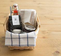 La chica de la casa de caramelo: Una cesta de desayuno para regalar