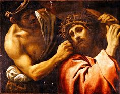 Annibale Carracci o scuola - Cristo portacroce - Collezione privata Caravaggio, Jesus Is Lord, Jesus Christ, Jesus Art, God, Savior, Annibale Carracci, Cross Wall Art, Renaissance