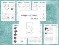 Endlich Pause 2.0: Mengen und Zahlen bis 5