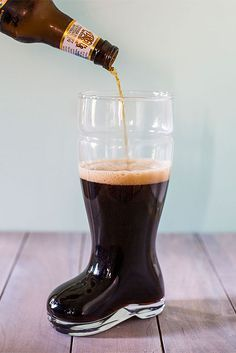 Beer in a Boot?