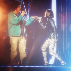 Lem's dreams came true tonight when he duetted with his hero #jessiej #thevoiceuk #teamjessie