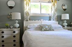 Pretty master bedroom