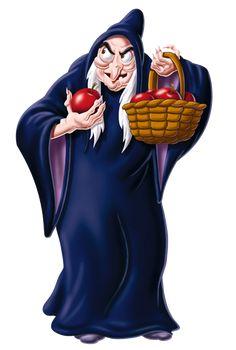 Witch (Snow White and the Seven Dwarfs) - Disney Wiki World Disney, Art Disney, Film Disney, Disney Wiki, Disney Kunst, Disney Magic, Disney Movies, Disney Pixar, Evil Queen Disney