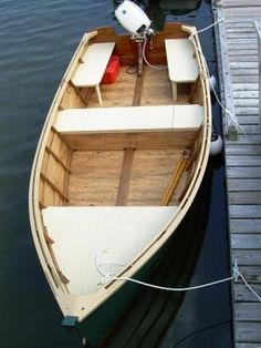"The Macomber 15 is a traditionally built flat bottom Westport River Skiff. LOA: 15'2"" Beam: 5'11"" Draft: 6"" Max Hp: 25 (15Hp.recomended)"