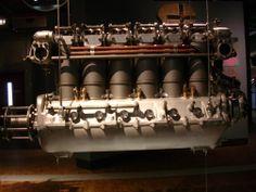 Motor Fokker DVII im Technikmuseum Berlin