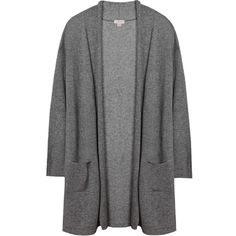 Open Cashmere Cardigan (820 PLN) ❤ liked on Polyvore featuring tops, cardigans, short-sleeve cardigan, cardigan top, cashmere top, drop shoulder tops and sleeve top