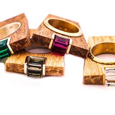 Exotic Wood Collection with Swarovski Crystals    STREET LINE rings    O.design by VerticaFashion    #verticafashion   #byverticafashion#exoticwood#swarovski#swarovskicrystal#ring#jewelry#jewelryaddict  #fashionista#fashionblog#fashionstyle#fashionlover#fashiondaily#fashionaddict#ootd#outfitinspiration#style#styleoftheday#styleinspiration#stylefile#streetstyle#shopaholic#streetstyleluxe#streetfashion#instafash...