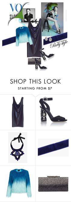 """""""Untitled #1073"""" by audrey-prater ❤ liked on Polyvore featuring COS, Dolce&Gabbana, Boohoo, Unreal Fur and Saqqara"""