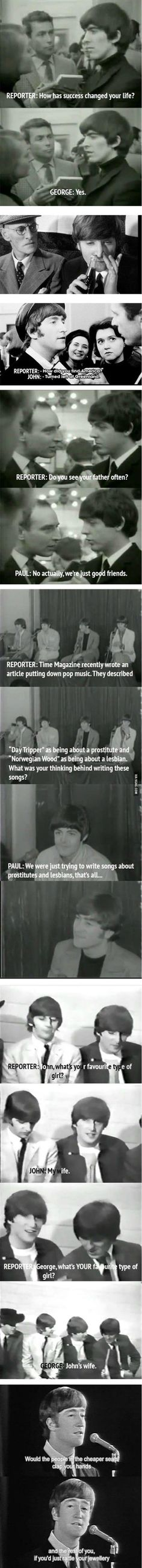 The Clever Beatles - great quotes