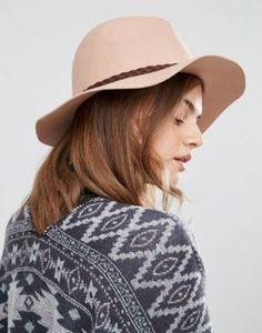 Sombrero fedora de fieltro de lana de Boardmans