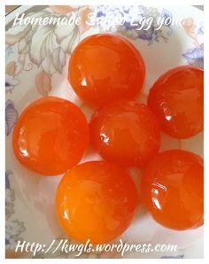 homemade salted egg using chicken egg #guaishushu #kenneth_goh…